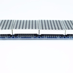 Image 4 - 10 個MAX7219 ドットマトリックスモジュールマイクロコントローラ 4 1 ディスプレイと 5 5pライン 4 1 で