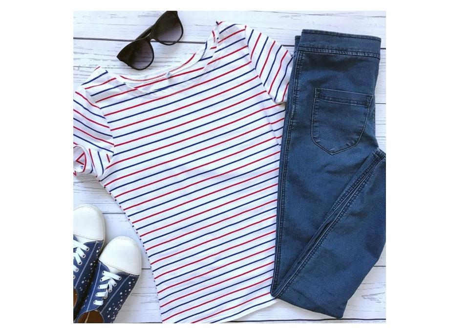 HTB1uSS8RpXXXXalXXXXq6xXFXXXP - Volocean Summer Casual T-shirts For Women Classic Cotton