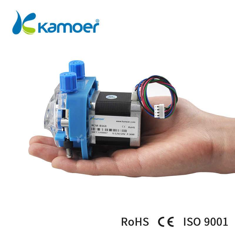 Kamoer KCM 12 В/24 В Перистальтический водяной насос с шаговым двигателем и BPT/кремний поддержка самовсасывания