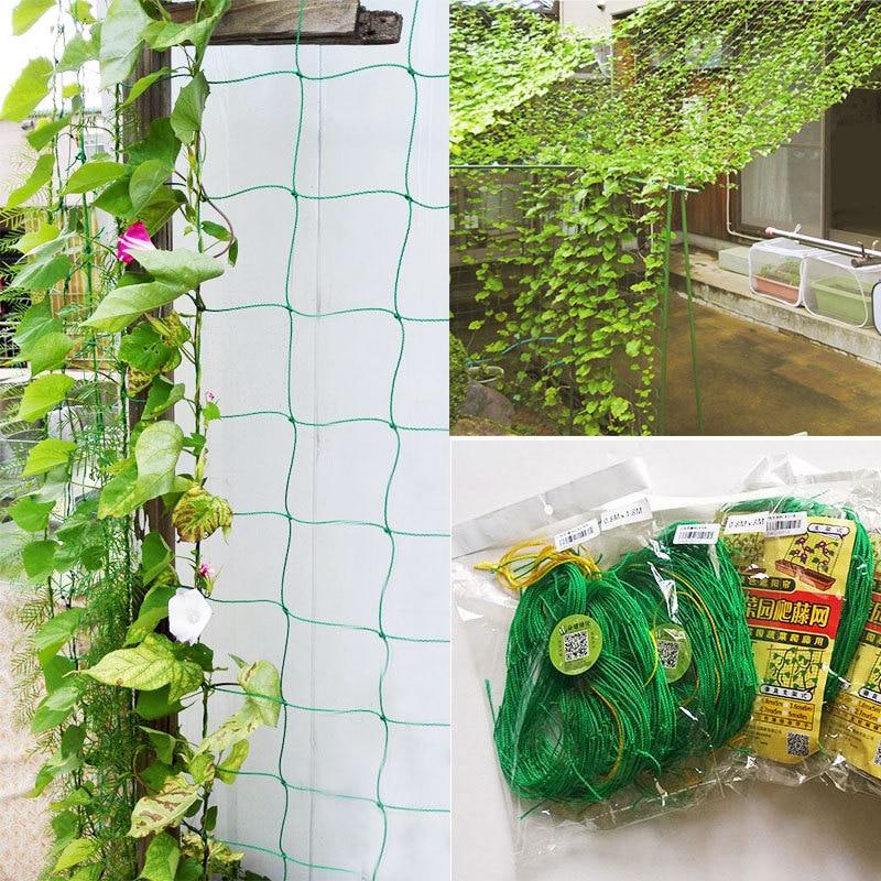 Support Climbing Bean Bird net Nylon Trellis Net Potted Plant Nets Grow Fence