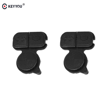 KEYYOU Replacement 3 Buttons Remote Fob Key Buttons Repair Pad For BMW Car For BMW Series 3 5 7 E38 E39 E36 Z3 Z4 Z8 X3 X5 image