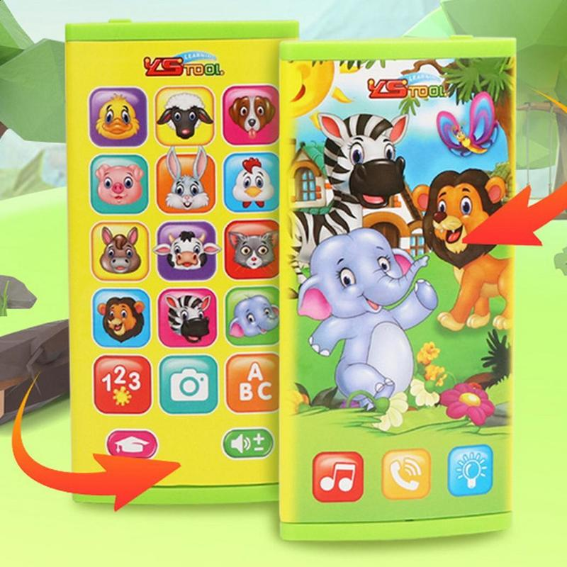 Training Machines Toy Telephone  Animal Sounds Kids Telephone Educational Musical Telephone For Children
