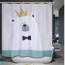 Polyester Waterproof Shower Curtain