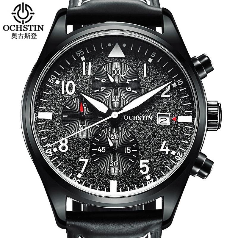 Relogio Masculino 2016 OCHSTIN Watch Chronograph Mens Watches Top Brand Luxury Sports Watches Men Clock Quartz