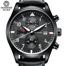 Relogio masculino 2016 ochstin reloj cronógrafo para hombre relojes de primeras marcas de lujo relojes deportivos hombres reloj de cuarzo reloj de pulsera masculino