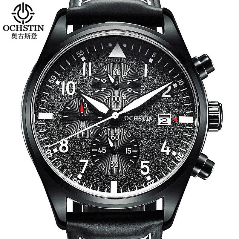 Relogio Masculino 2017 OCHSTIN Montre Chronographe Sport Montres Hommes horloges mannen Quartz Montre-Bracelet hommes erkek saat