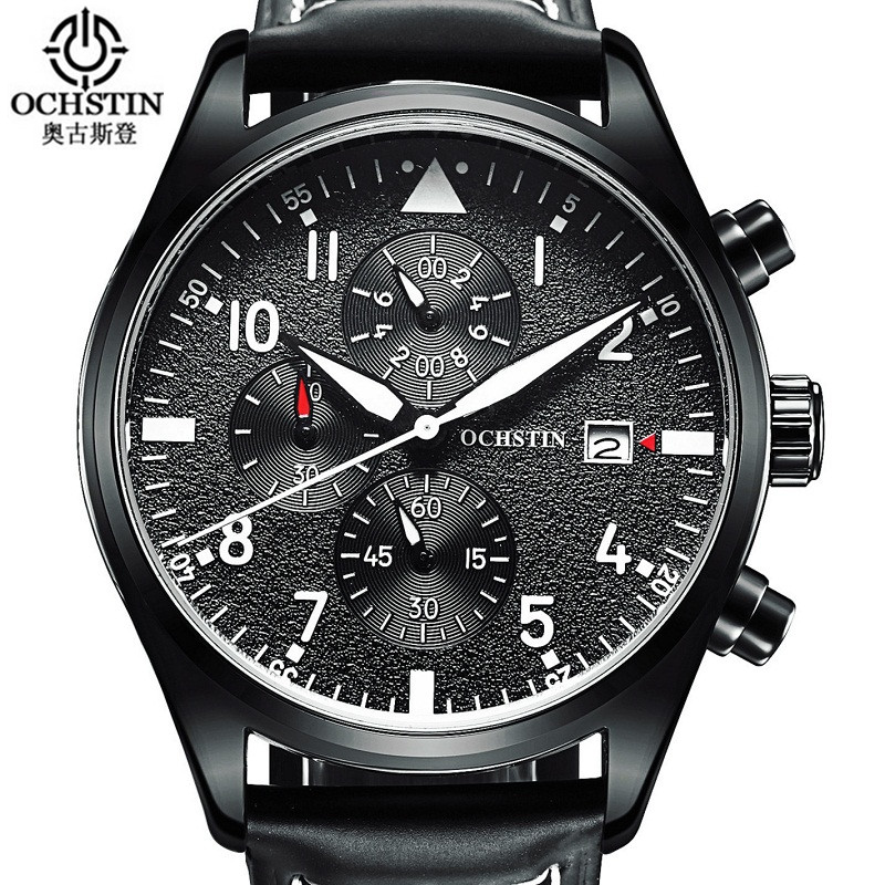 Relogio Masculino 2017 OCHSTIN Watch Chronograph Sports Watches Men horloges mannen Quartz Wrist Watch men erkek