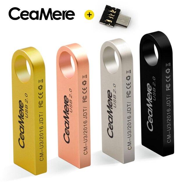 CeaMere C3 USB Ổ Đĩa Flash 8 GB/16 GB/32 GB/64 GB Pen Drive Pendrive USB 2.0 Bộ Nhớ Ổ Đĩa Flash stick USB đĩa 512 MB 256 MB Miễn Phí Vận OTG
