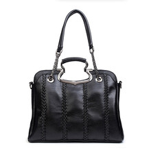 Women Brand Genuine Leather Handbags 2016 New Fashion Chain Shoulder Bag Female Crossbody Bags Girl Tote Bolsa sac