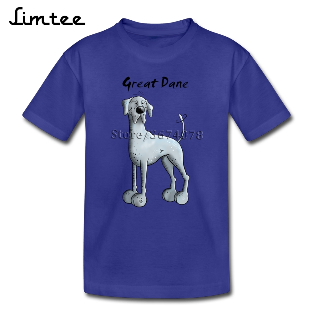 f0c5dc005 Funny Great Dane T shirts For Girl Boys Normal 4T 8T T Shirts Children 100%  Cotton Short Sleeve Shirts Baby-in T-Shirts from Mother & Kids on  Aliexpress.com ...
