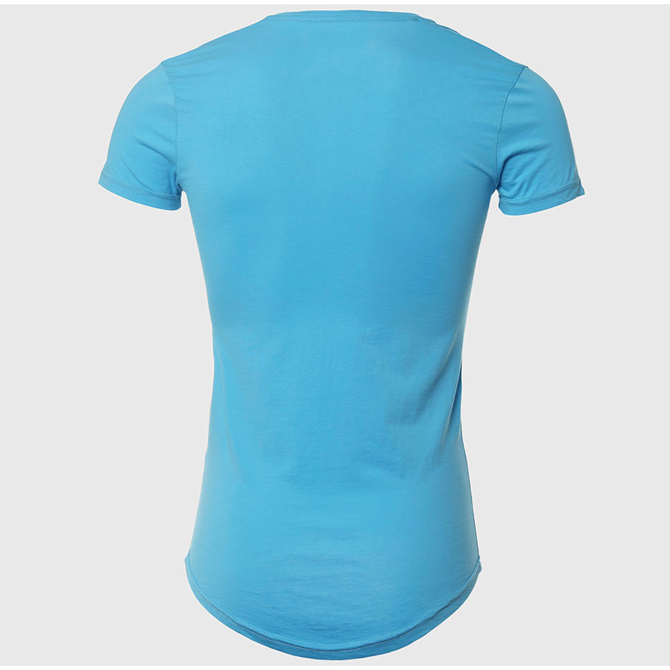 21 Colors Deep V Neck T-Shirt Men Fashion Compression Short Sleeve T Shirt Male Muscle Fitness Tight Summer Top Tees 18