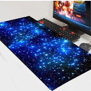 Image 4 - 900*400 ミリメートル diy カスタムのマウスパッドマットのラップトップキーボードマット xl overwatch/cs 行く/世界 warcraft の