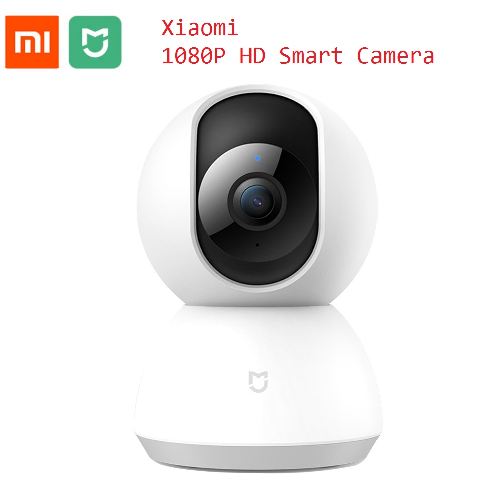 Xiaomi Mijia 1080P Smart IP Camera Camcorder 360 Degree WIFI Wireless Night Vision Camera Home Security Baby Monitor pk Dafang цена
