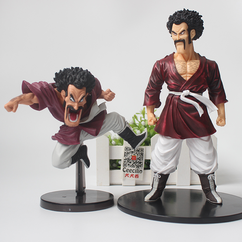2style Classic Anime Dragon Ball Z Hercule Mark Action Figure Mr. Satan PVC Figure Model Toys anime dragon ball super saiyan 3 son gokou pvc action figure collectible model toy 18cm kt2841