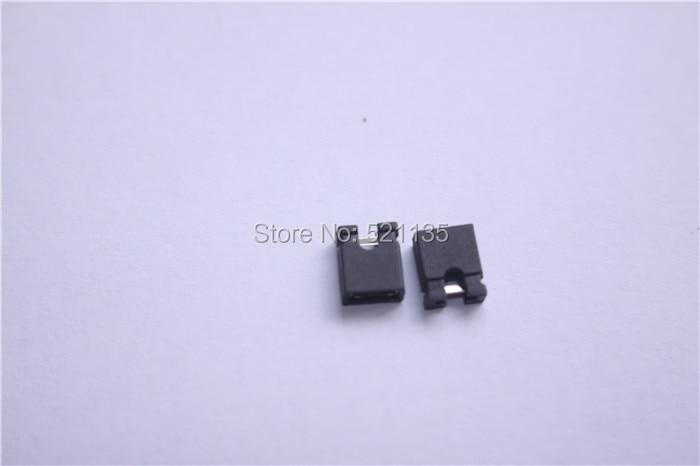 500pcs mini micro jumper for 2.54 mm header shunts