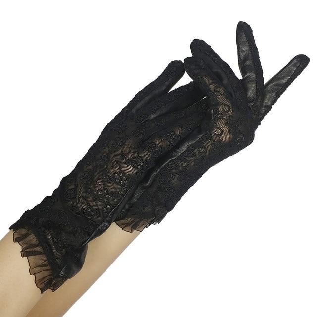 CHING YUN Women Lace Gloves...