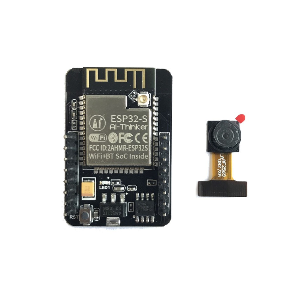 ESP32 CAM camera development board WiFi+Bluetooth module/ESP32 serial port to WiFi/Internet of Things-in Replacement Parts & Accessories from Consumer Electronics