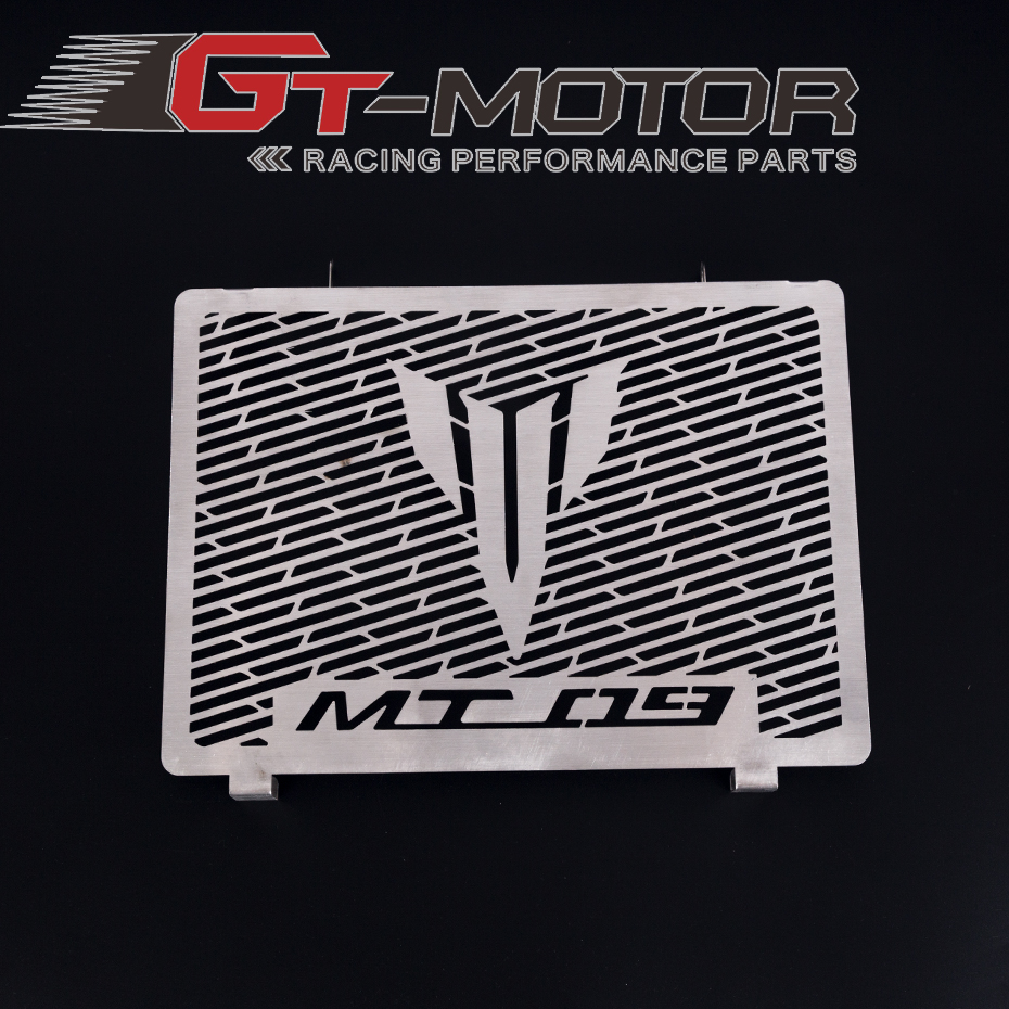 GT Motor - Stainless Steel Motorcycle Radiator Guard Radiator Cover Fits For Yamaha Mt09 Tracer Mt-09 FZ09 2014-2017 15 16GT Motor - Stainless Steel Motorcycle Radiator Guard Radiator Cover Fits For Yamaha Mt09 Tracer Mt-09 FZ09 2014-2017 15 16