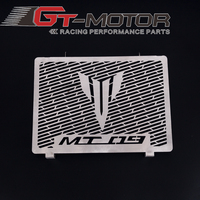 GT Motor Stainless Steel Motorcycle Radiator Guard Radiator Cover Fits For Yamaha Mt09 Tracer Mt 09