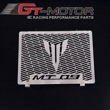 GT موتور الفولاذ المقاوم للصدأ للدراجات النارية المبرد الحرس غطاء المبرد يناسب ياماها Mt09 التتبع Mt 09 FZ09 2014 2017 15 16