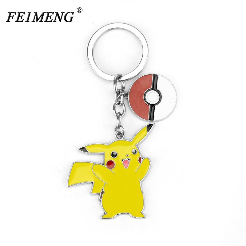 classic-cartoon-font-b-pokemon-b-font-go-keychain-poke-ball-pikachu-keyring-jewelry-fashion-car-key-chain-for-key-holder-gifts-chaveiro