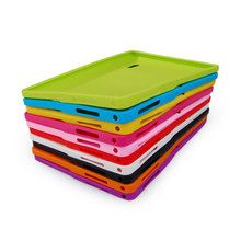 Colorful Silicone Cover Case for 7 inch Q88 Allwinner A13 A23 A33  ATM7021 ATM7031 7 inch Tablet Silicone case