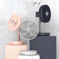 Cooling Fan 3 Speed Adjustable Portable Mini Hand Fans 4000Mah Rechargeable Micro Usb Desk Air Cooling Fan