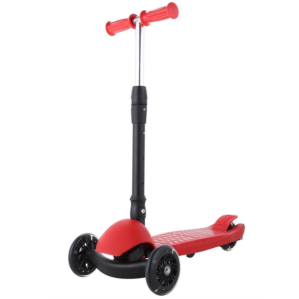 Nouveau Scooter en alliage d'aluminium hauteur réglable meilleur 50 KG 3 ~ 17 ans cadeaux pour enfants garçons filles
