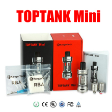 Original Kanger Toptank Mini Atomizer kit Black White SS Red Color Kanger Sub Ohm Tank for subox KBOX topbox Mini vapor mod