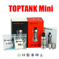 Toptank Kanger originais Mini kit Atomizador SS Preto Branco Vermelho Cor KBOX Kanger Sub Ohm Tanque para subox topbox Mini vapor mod