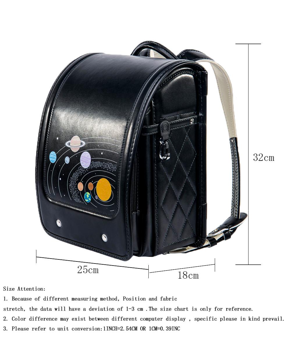 ff44baa420 Coulomb Children Black Backpack For Boy School Bag Hasp Character  Orthopedic Randoseru Japanese Book Bags PU Kid Backpacks 2018