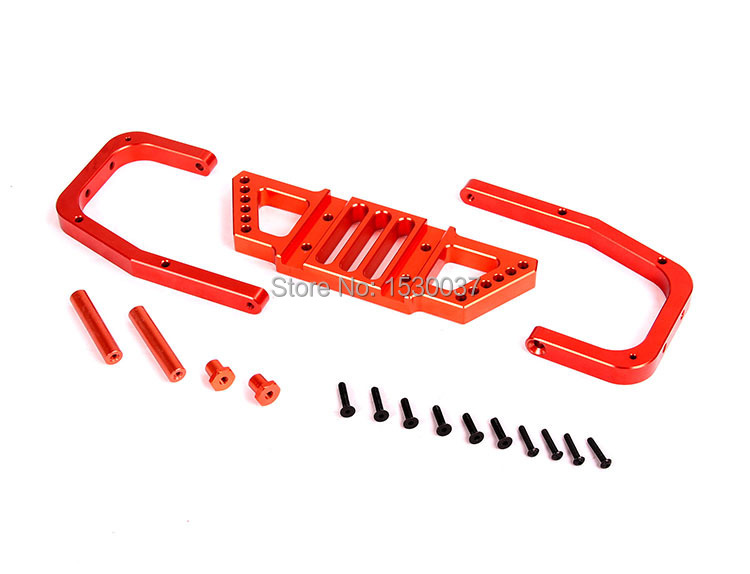 ФОТО Free shipping, Baja upgrade parts, CNC alloy Rear Bumpe, Retail and wholesale