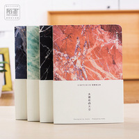 Japanese Stationery Marble Sky A5 Blank Pages Notebook Journal DIY Personal Diary Note Book Agenda Planner