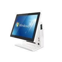 POS система машина для ресторанов и супермаркетов двойной сенсорный экран 15 дюймов электронный ЖК монитор кассовый аппарат