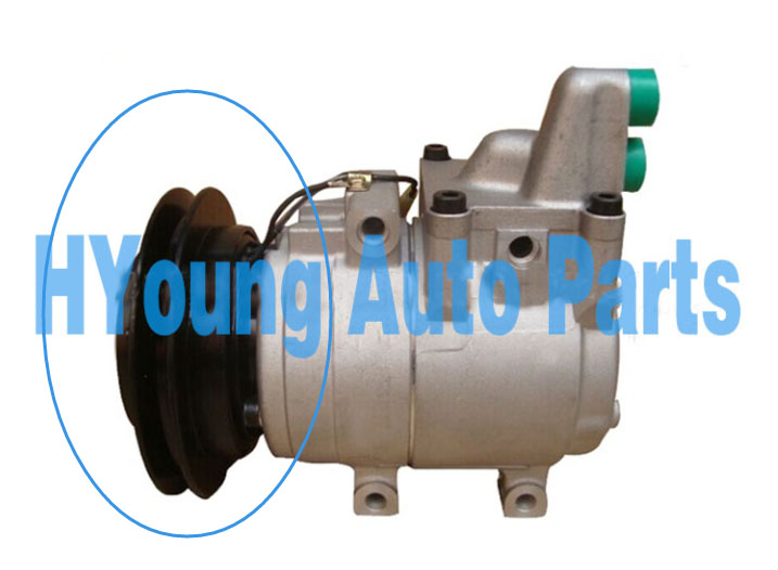 1pk 140mm HS15 automatyczna klimatyzacja sprzęgło sprężarki dla Ford RANGER 2.5TD/Mazda BT50 97701-34700 F500-RZWLA-07 71-1400218 F500RZWLA06