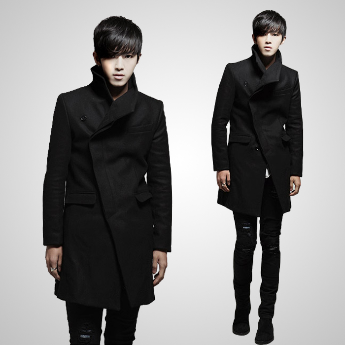 12 Men 39 S Clothing New Arrival Unique French Front British Style Fashion Design Slim Long Trench