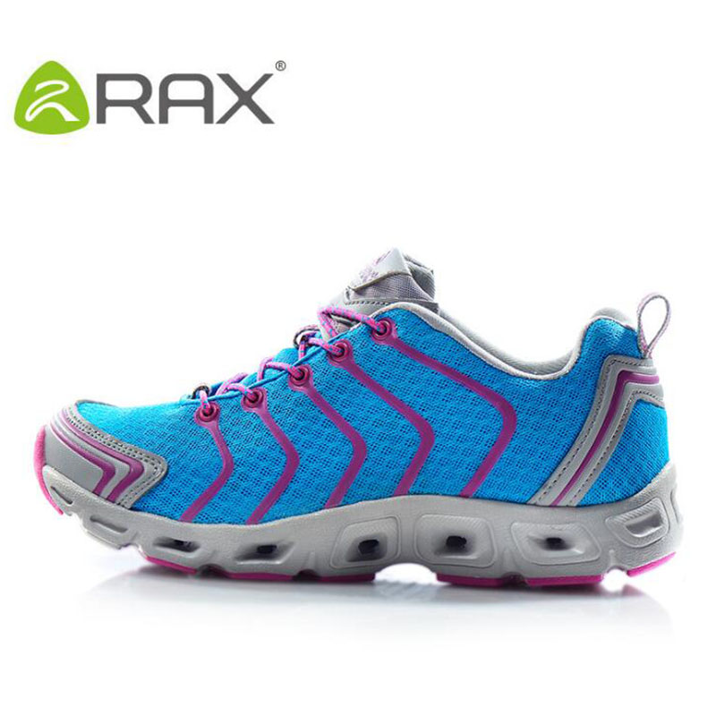 Rax Women Aqua Shoes Brand Outdoor Breathable Sneakers For Water Sports Women Upstream Shoes Professional Cushioning Aqua Shoes