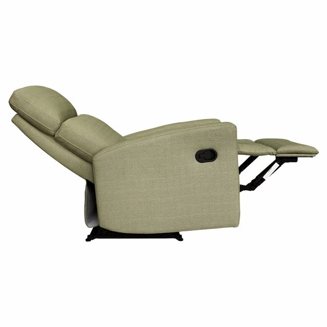 Online Shop LANGRIA Modern Linen Upholstered Recliner Armchair Sofa Chair  Home Chaise Lounge With Padded Seat, Backrest And Armrests Beige |  Aliexpress ...