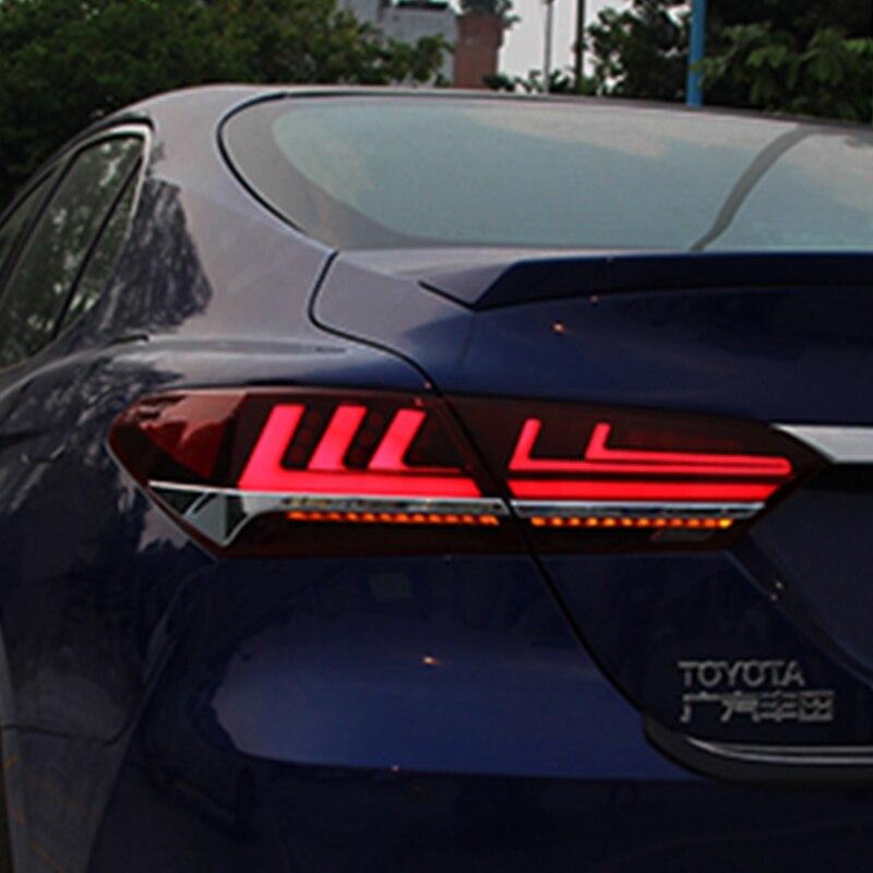 Nouveau feu arrière pour Toyota Camry feux arrière 2018 Camry XSE feu arrière LED mise à niveau vers LS400 conception LED Signal dynamique