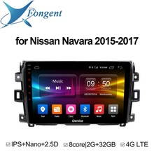 For Navara 2015 2016 2017 Car Audio GPS Navigator Intelligent Smart Car Pad 10.1