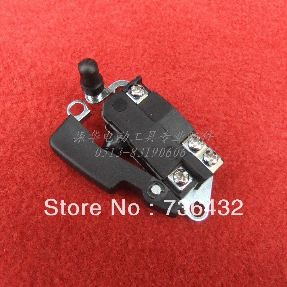 Бесплатная доставка! Электрический выключатель 808AF с короткими кнопка блокировки распространяется на makita HM0810 стиль молоток/Электрический ...