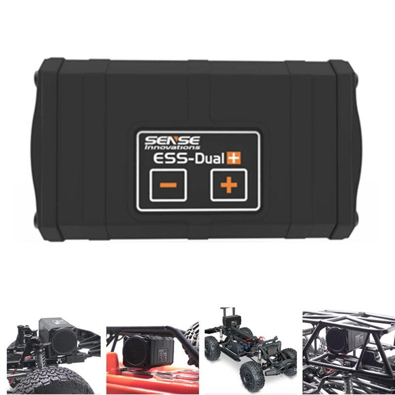Sense yenilikler ESS-çift 2 hoparlörler motor ses simülatörü eksenel SCX 10 II WRAITH Traxxas TRX4