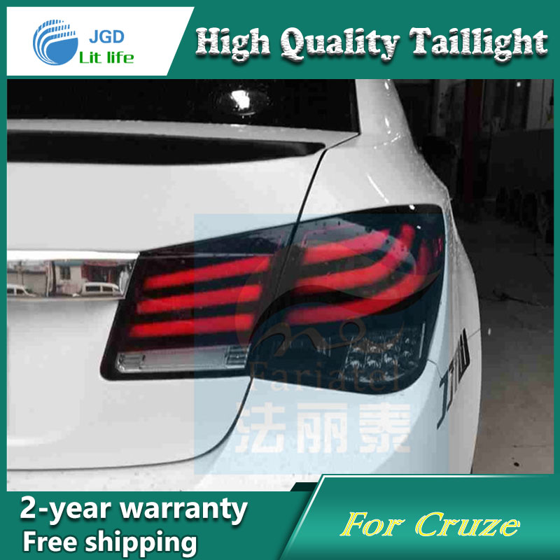 Car Styling Tail Lamp for Chevrolet Cruze Tail Lights LED Tail Light Rear Lamp LED DRL+Brake+Park+Signal Stop Lamp car styling tail lamp for toyota corolla led tail light 2014 2016 new altis led rear lamp led drl brake park signal stop lamp