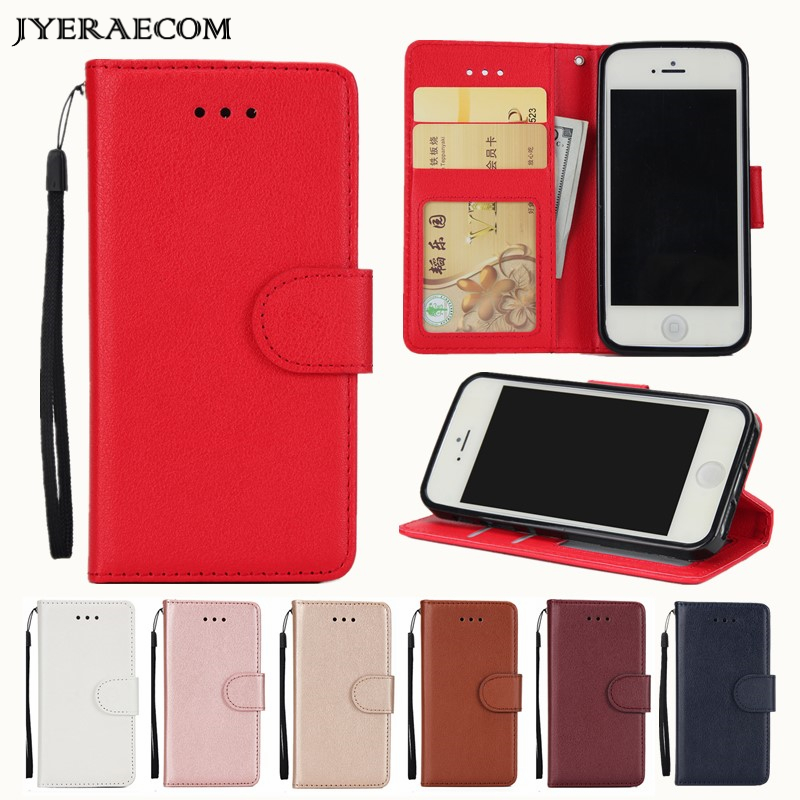 PU Leather <font><b>Flip</b></font> Wallet Cover <font><b>Case</b></font> For <font><b>Samsung</b></font> <font><b>Galaxy</b></font> J4 J6 <font><b>2018</b></font> <font><b>A8</b></font> A5 2017 J3 J5 J7 A3 2016 A20e A20S A60 A50 <font><b>Case</b></font> image