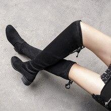 0f05595c60 oothandel stretch long velvet boots Gallerij - Koop Goedkope stretch ...