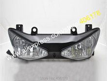 Hot Sales,Motorcycle Front Headlight For Kawasaki Ninja ZX6R 2003 200 ZX-6R ZX636 03 04 ZX-6R ZX 636 6R HeadLamp Head Light