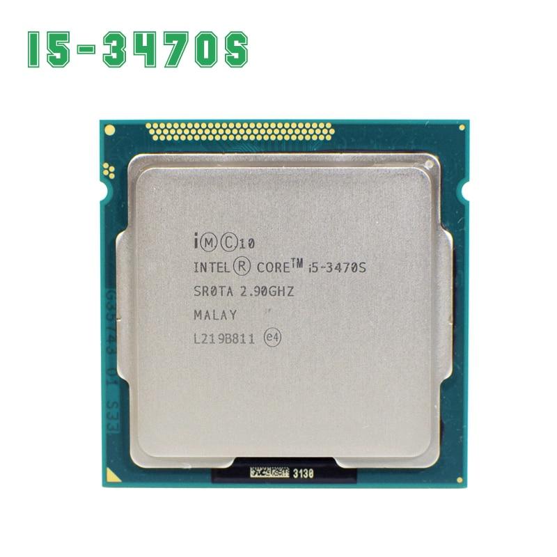 Prix pour Intel Core i5 3470 S 2.9 GHz 5GT/s 4x256KB L2/6 MB L3 Prise 1155 Quad-Core CPU