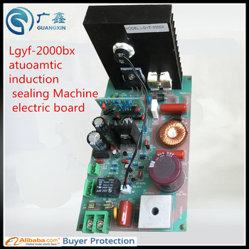 Free shipping   Lgyf-2000bx atuoamtic induction sealing Machine electric board,sealing spare parts of induction sealer guarantee high quanlity portable induction sealer 0 8 inch 3 94 inch free shipping