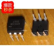 O envio gratuito de 10 pçs/lote Optocoupler MOC3023 3023 DIP-6 pacote original novo
