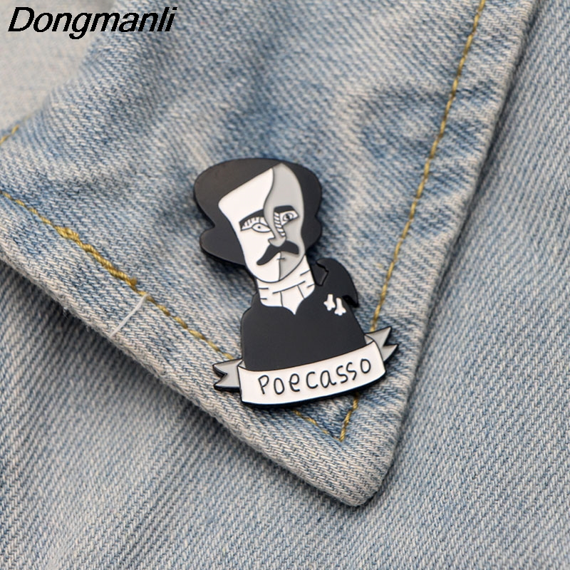 Motivated Metal Brooch Collar Alloy Brooches Jeans Shirt Handbag Badges On Backpack Pins Home & Garden Apparel Sewing & Fabric